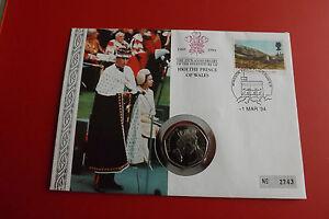 * Numisbrief Grande-bretagne 1994 à 50 Pence Pièce De Monnaie 1993 * (alb12)-afficher Le Titre D'origine