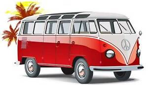 Image Is Loading Samba Bus Van Cartoon T Shirt Vw Beach