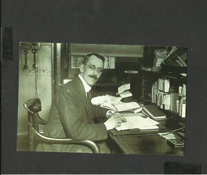 Nostalgia-Postcard-Secretary-Superintendent-St-Georges-Hospital-London-1921