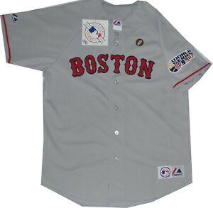 4c045ea9a8e New Boston Red Sox Replica Road Majestic Jersey A6400 2007 World ...