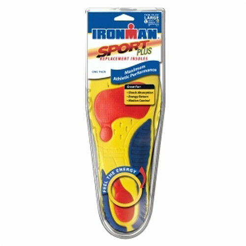 Spenco Ironman Sport Plus Replacement Shoe Sneaker Insoles Inserts Men/'s Women/'s