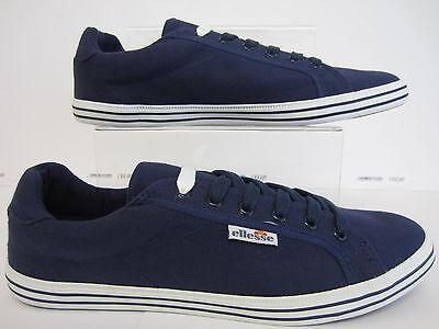 Ellesse Italia Olbia Lona Zapato Azul Marino Tamaños EU 6.5 x 8 (R15)