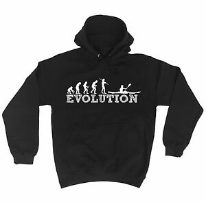 EVOLUTION-KAYAK-HOODIE-hoody-rowing-watersports-canoe-birthday-funny-gift-123t