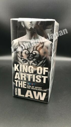 ONE PIECE figure TRAFALGAR.LAW KING OF ARTIST THE BANPRESTO