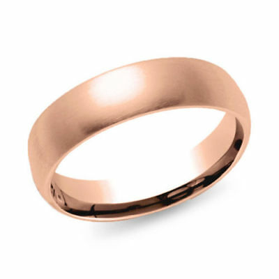 Precious Metal Without Stones 9k Solid Gold Ring~brushed Wedding Ring~2mm~round Simple Band~rounded~sjr0418 A Complete Range Of Specifications Jewelry & Watches
