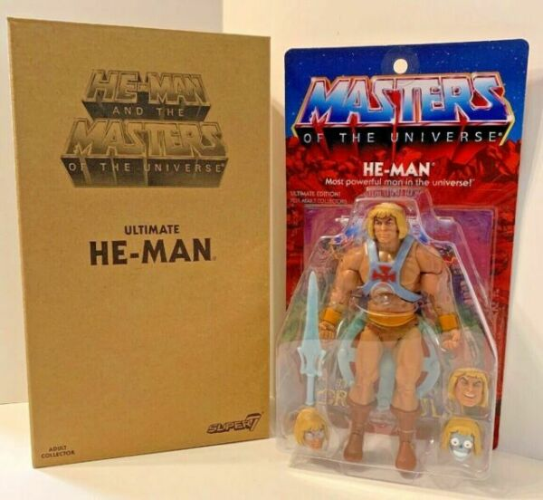 Skeletor Ultimate Edition 2.0 Masters of the Universe Action Figur 2019 Super7