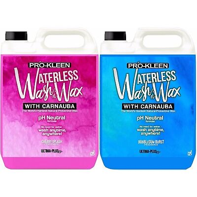 Car pH Neutral Waterless Wash and Wax Carnauba Car Care Cleaner NO WATER NEEDED