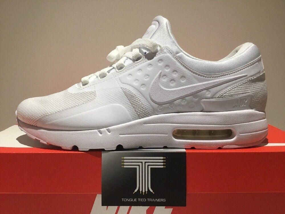 Nike Air Max Zero Essential ~ 876070 100 ~ taille  Chaussures de sport pour hommes et femmes