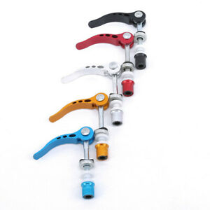 Bicycle Seat Quick Release Tube Clip Lock Saddle Nut Screw Spare Parts Jian