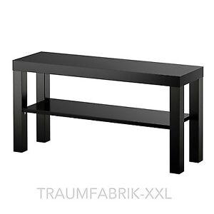 Ikea Fernsehtisch schwarz TV-Regal Wohnzimmerregal 90 x 26cm ...