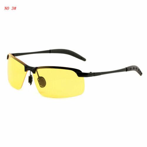 Classic Polarized Sunglasses Men/'s Rimless Chameleon Discoloration Summer Shades
