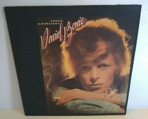 David Bowie Young Americans Vinyl LP Record Album 1975 Textured Cover Fame Right