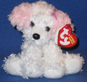 TY SUGARPUP the DOG BEANIE BABY - NEW - MINT with MINT TAGS