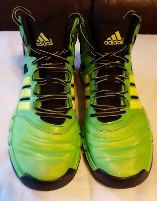 Adidas Crazy Ghost Men's Size 10 Basketball Shoes Lime Green, Black, Yellow