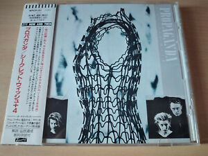 PROPAGANDA-A-Secret-Wish-CD-New-Wave-Synth-Pop-Made-In-Japan-With-OBI