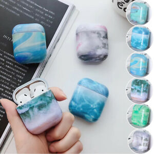 Marble-Pattern-Case-Earphone-Protector-Shockproof-Accessories-For-Apple-Airpods