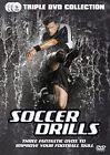 Soccer Drills - Improve Your Football Skill (DVD, 2014, 3-Disc Set)