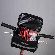 Convenient Large Storage Bike Front Handlebar Pannier Bicycle Cycling Bag Pouch