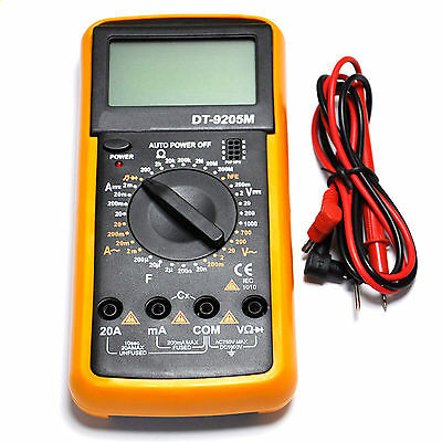 BEST DT9205M Digital Multimeter Voltmeter Ohmmeter Ammeter Capacitance Tester