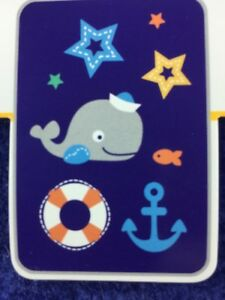New-Bananafish-Navy-Blue-Whale-Anchor-Plush-Baby-Blanket-Just-My-Style