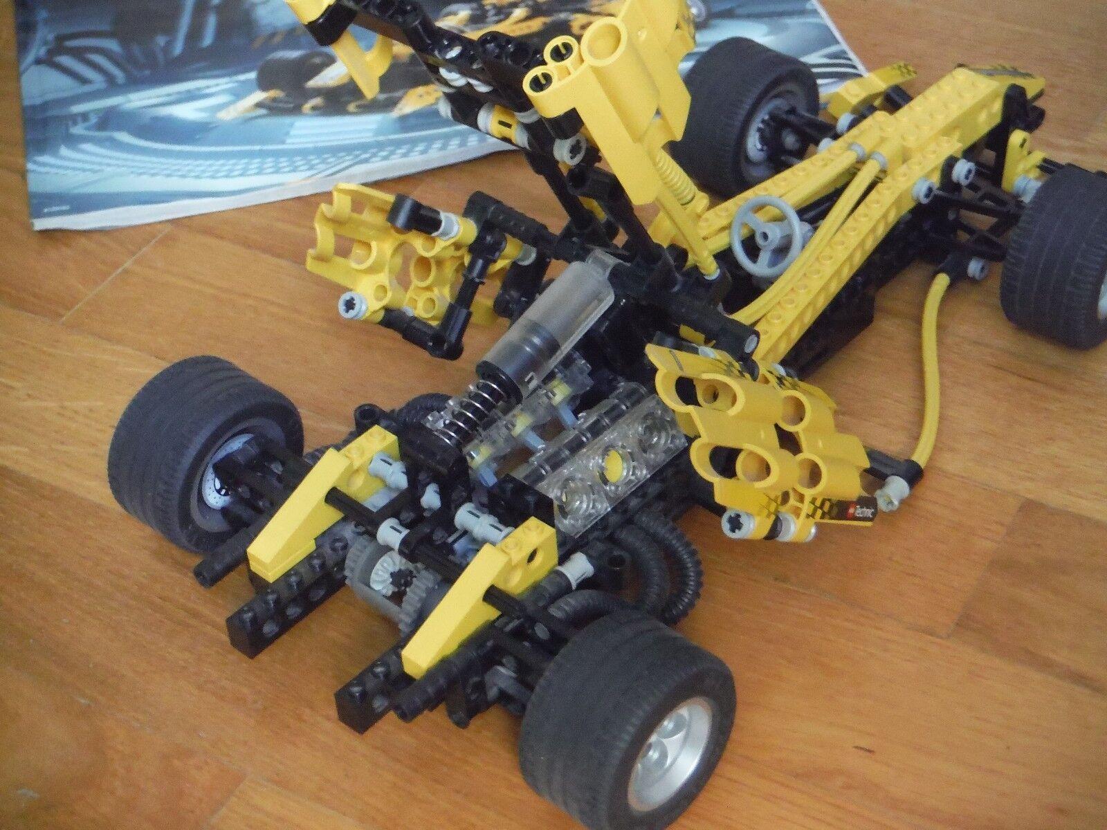 SET LEGO LEGO LEGO TECHNIC 8445 RACE CAR FORMULA 1 - COMPLETO 100% - RARITA' cd187a