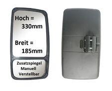 Außenspiegel Ersatz Spiegel Wohnmobil Iveco VW LT Pritsche 330x185 ø16-26 Links