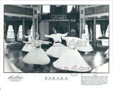 1993 Whirling Dervish Dancers Istanbul Turkey Press Photo