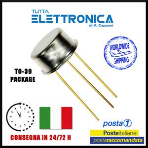 2SC708 2SC 708 Silicon Si NPN Transistor 60V 1A 0.75W TO-39 new old stock NOS