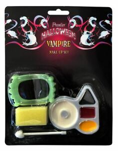 BLOODY VAMPIRE SCARY MAKEUP WOUNDED HALLOWEEEN PARTY ACCESSORIES KIT SET