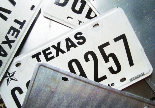 License Z-Plate Bracket Safety Check Stick Horizontal 3.25 x 2.25 FREE SHIPPN