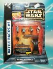 T 832 Micro Machines Star Wars Action Fleet Battle Packs 1 Rebel Alliance