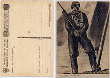 """Franchigia Militare 2° GM """"Il Marinaio"""" illustratore Santagata"""