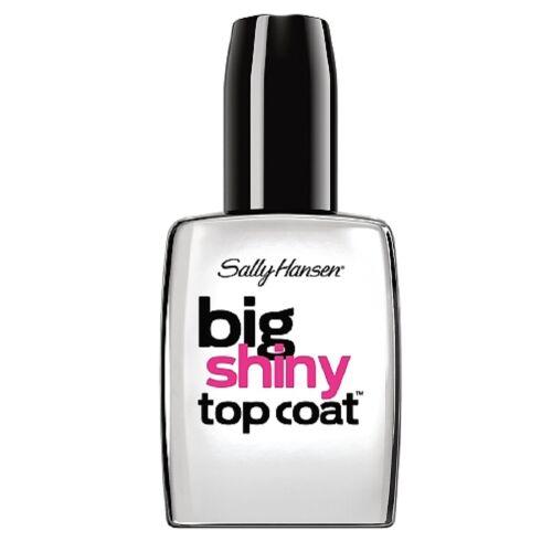 Sally Hansen Treatment Big Shiny Top Coat 0.4 oz (Pack of 4)