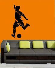 Mesleep Football Design Black PVC Wall Sticker - Wall Decal