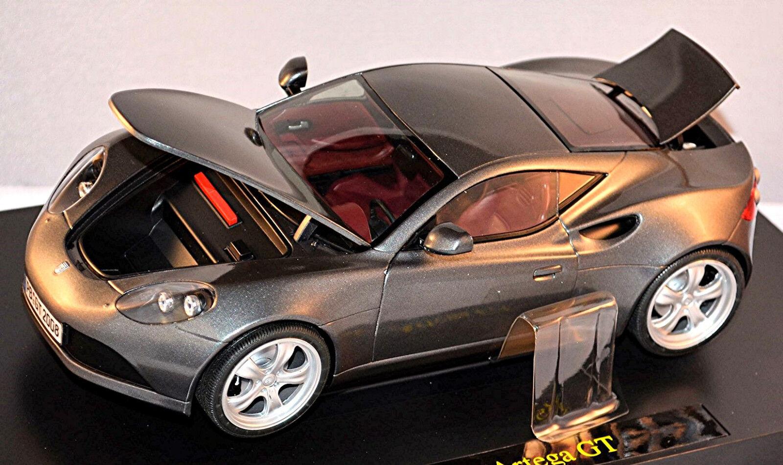 Artega GT Coupe V6 300PS VW Motor 2009-12 grey grey metallic 1 18 Revell