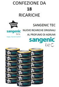Tommee Tippee 18 Ricariche Sangenic Tec Originali Mangiapannolini Antibatteri