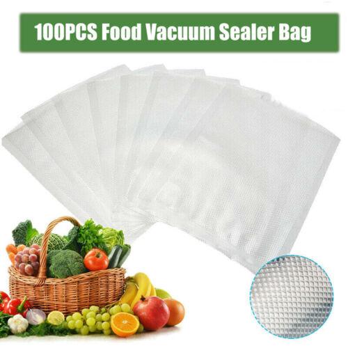 100PCS Household Vacuum Sealer Bags Kitchen Vacum Sealing Machine Food Save Bag*