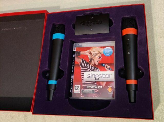 Media Kit SingStar PS3 + Microphone sans fil - Press Kit Edition Promo FR