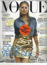 VOGUE, ESPAN EDITION,  MARCH, 2012   ( COMO VESTIR QUE * DEL WEEKEND ALCOCTEL )