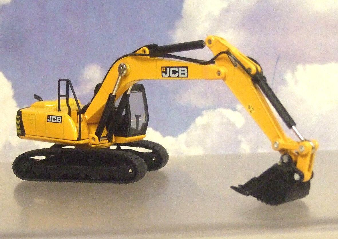 NICE Oxford Diecast costruzione 1 76 JCB JS220 ESCAVATORE CINGOLATO ESCAVATORE