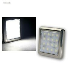 "LED Chrom-Unterbaustrahler ""Quattro"" 16 LEDs kalt-weiß 12V ca1,6W, Aufbauleuchte"