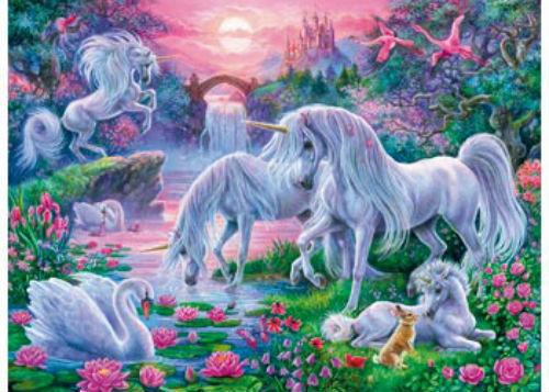 Ravensburger Unicorns at Sunset Puzzle 150pc