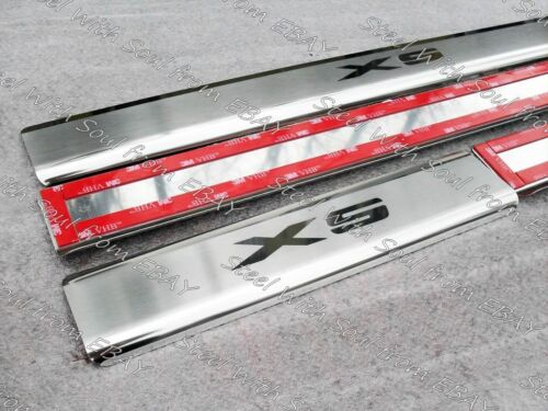 Chrome cover Door sill lining Scuff plate for BMW X5 F15 2014—2018