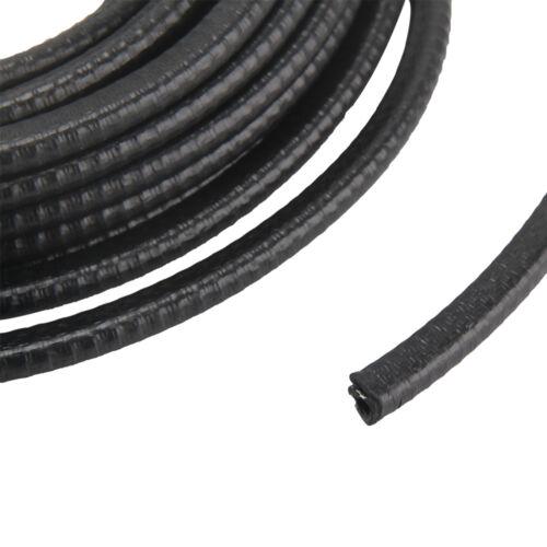 10m Kantenschutzprofil Schwarz Für 1-2mm Kantenschutz Kederband Dichtungsprofi