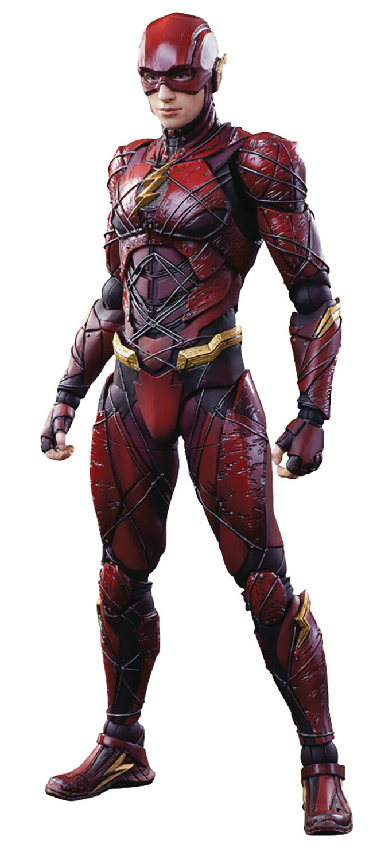 Square Enix Jeu Arts Kai - Justice League -the Flash Figurine Articulée
