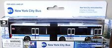 "Daron New York City Articulated 6"" Diecast Model Bus MTA M34 CrossTown"