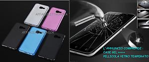Para-Samsung-Galaxy-A3-2017-Sm-A320f-Funda-Cover-Gel-Pelicula-Vidrio-9h