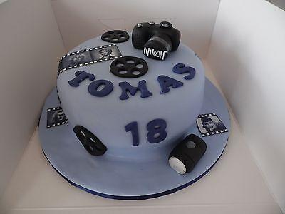 Astonishing Handmade Edible Nikon Camera Cake Topper Birthday Casio Ebay Funny Birthday Cards Online Benoljebrpdamsfinfo
