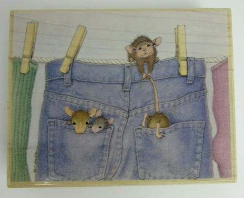 You Choose Mice Stamps OOP Stampabilities House Mouse Designs Stampa Rosa