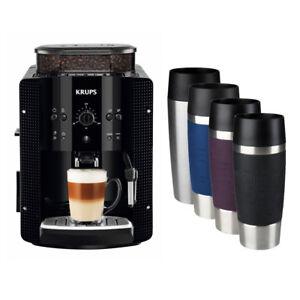 Krups EA 8108 Espresso-Kaffee-Vollautomat + EMSA TRAVEL MUG Isolierbecher